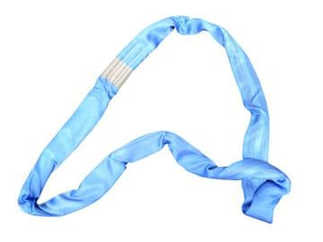 8 Tonne x 4 metre BLUE Round Sling To EN-1492-2 cargo lifting recovery tree stop